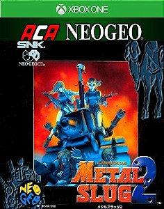 ACA NEOGEO METAL SLUG 2 Xbox One Código 25 Dígitos