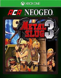 ACA NEOGEO METAL SLUG 3 Xbox One Código 25 Dígitos