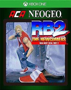 ACA NEOGEO REAL BOUT FATAL FURY 2 Xbox One Código 25 Dígitos