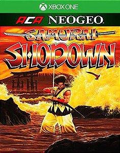 ACA NEOGEO SAMURAI SHODOWN Xbox One Código 25 Dígitos