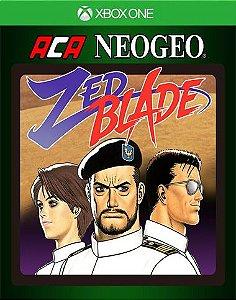 ACA NEOGEO ZED BLADE Xbox One Código 25 Dígitos