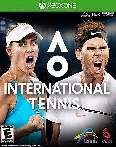 AO International Tennis  Xbox One Código 25 Dígitos