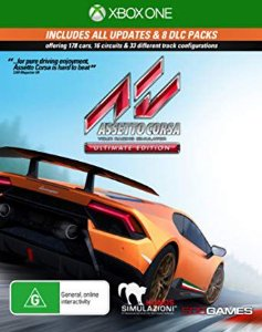 Assetto Corsa Ultimate Edition Xbox One Código 25 Dígitos