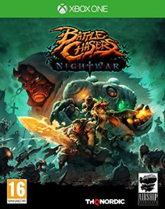 Battle Chasers Nightwar Xbox One Código 25 Dígitos
