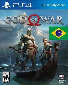 God of War PS4 PSN Mídia Digital