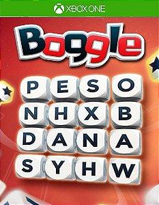 Boggle Xbox one Código 25 Dígitos