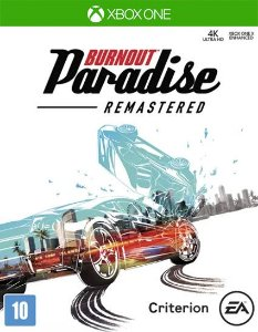 Burnout Paradise Remastered Xbox one Código 25 Dígitos