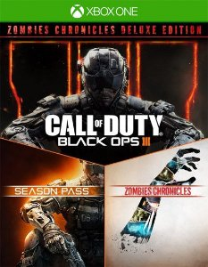 Call of Duty Black Ops III  Zombies Deluxe Xbox one Código 25 Dígitos