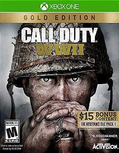 Call of Duty WWII Edição Ouro Xbox one Código 25 Dígitos
