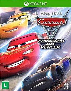 Carros 3: Correndo para Vencer / Driven to Win  Xbox one Código 25 Dígitos