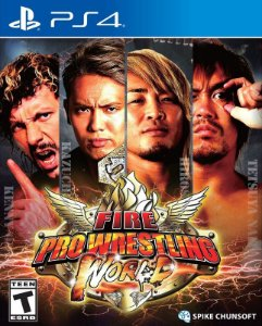 Fire Pro Wrestling World PS4 PSN Mídia Digital