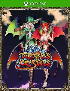 Demon's Crystals Xbox One Código de Resgate 25 Dígitos