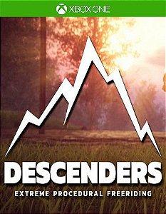 Descenders (Game Preview)  Xbox One Código de Resgate 25 Dígitos