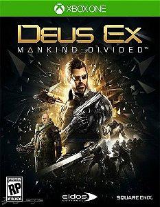 Deus Ex: Mankind Divided Xbox One Código de Resgate 25 Dígitos
