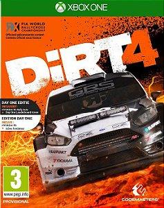 DiRT 4  Xbox One Código de Resgate 25 Dígitos