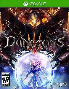 Dungeons 3 Xbox One Código 25 Dígitos