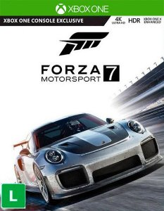 Edição de Luxo do Forza Motorsport 7  Xbox One Código de Resgate 25 Dígitos