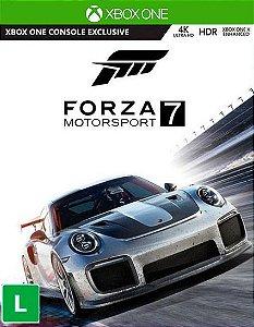 Forza Motorsport 7  Xbox One Código de Resgate 25 Dígitos