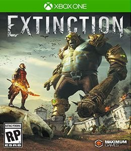 Extinction Xbox One Código de Resgate 25 Dígitos