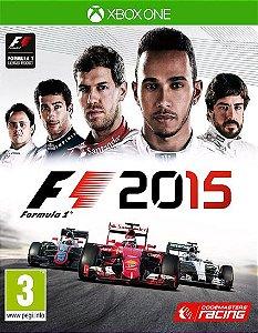 F1 2015  Xbox One Código de Resgate 25 Dígitos