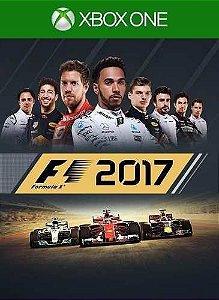 F1 2017  Xbox One Código de Resgate 25 Dígitos