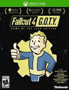 Fallout 4: Game of the Year Edition Xbox One Código de Resgate 25 Dígitos