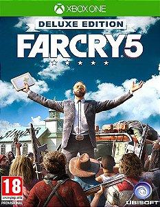 Far Cry 5 – Deluxe Edition Xbox One Código de Resgate 25 Dígitos