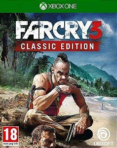 Far Cry 3 Classic Edition Xbox One Código de Resgate 25 Dígitos