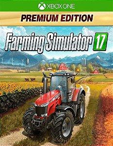 Farming Simulator 17 - Premium Edition Xbox One Código de Resgate 25 Dígitos