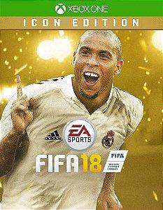 FIFA 18 Edição ÍDOLO  Xbox One Código de Resgate 25 Dígitos