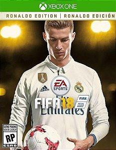 FIFA 18 Edição Ronaldo  Xbox One Código de Resgate 25 Dígitos