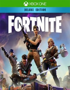 Fortnite – Pacote de Fundador Luxo  Xbox One Código de Resgate 25 Dígitos