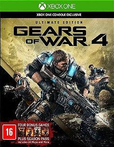 Gears of War 4 Ultimate Edition Xbox One Código 25 Dígitos