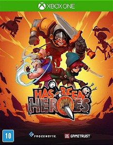 Has-Been Heroes  Xbox One Código de Resgate 25 Dígitos