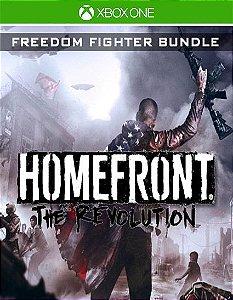Homefront The Revolution 'Freedom Fighter' Bundle Xbox One Código de Resgate 25 Dígitos