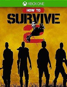 How To Survive 2 Xbox One Código de Resgate 25 Dígitos