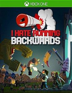 I Hate Running Backwards Xbox One Código de Resgate 25 Dígitos