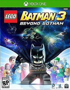LEGO BATMAN 3 ALÉM DE GOTHAM Xbox One Código 25 Dígitos