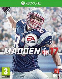 Madden NFL 17  Xbox One Código de Resgate 25 Dígitos