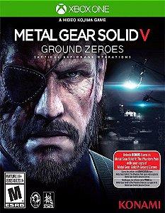 Metal Gear Solid V Ground Zeroes  Xbox One Código 25 Dígitos