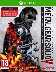 METAL GEAR SOLID V: THE DEFINITIVE EXPERIENCE   Xbox One Código 25 Dígitos