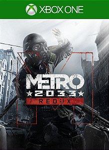 Metro 2033 Redux Xbox One Código 25 Dígitos