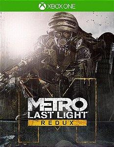 Metro Last Light Redux  Xbox One Código 25 Dígitos