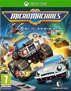Micro Machines World Series Xbox One Código 25 Dígitos
