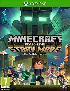 Minecraft: Story Mode - Season Two - The Complete Season (Episodes 1-5) Xbox One Código de Resgate 25 Dígitos