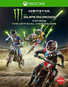 Monster Energy Supercross The Official Videogame Xbox One Código de Resgate 25 Dígitos