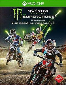 Monster Energy Supercross The Official Videogame Xbox One Código de Resgate 25 Dígitos