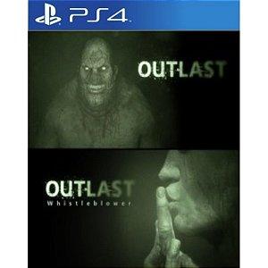 Outlast Bundle Of Terror PS4 PSN Mídia Digital