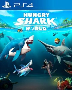Hungry Shark World PS4 PSN Mídia Digital