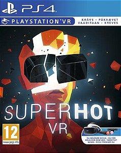 Superhot VR  PS4 PSN Mídia Digital